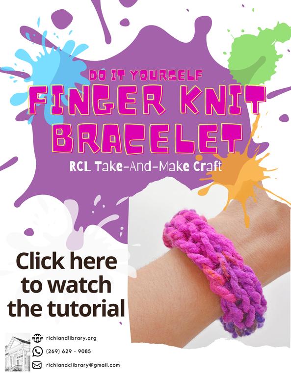 Finger Knit Bracelet Take-And Make Website Flyer.png