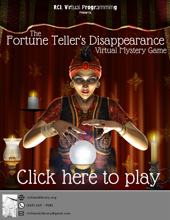Fortune Teller's Disappearance Mystery Game Website Flyer.png