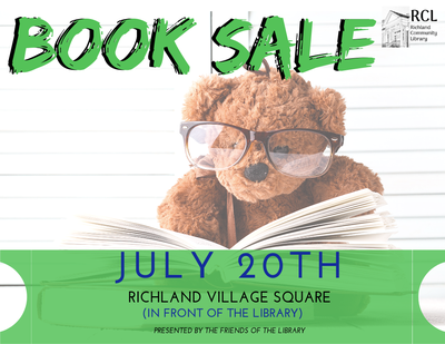 Annual Book Sale in the Park