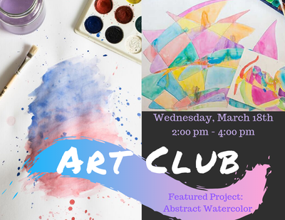 ART Club - Abstract Watercolor