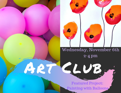 Art Club - Paint with Balloons