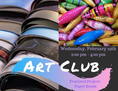 ART Club - Paper Beads