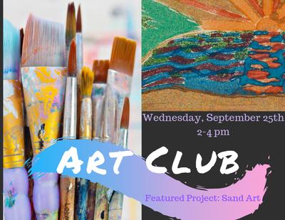 Art Club - Sand Art