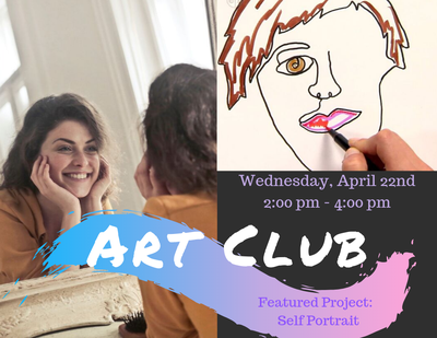 ART Club - Self Portrait