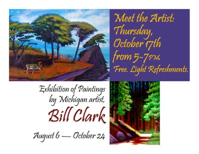 Artist Reception: Bill Clark