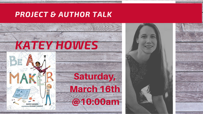 Author Talk: Katey Howes