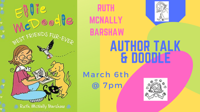 Author Talk: Ruth McNally Barshaw