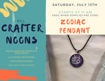 Crafter-noon: Zodiac Pendant