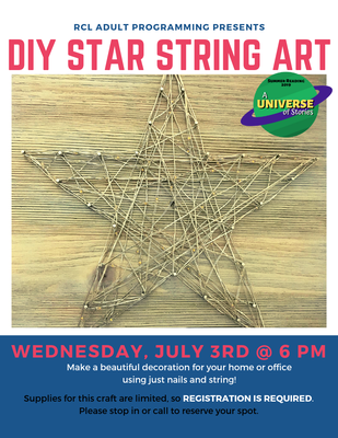 DIY Star String Art
