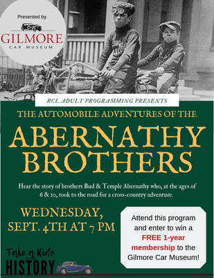 Gilmore Presents Abernathy Brothers