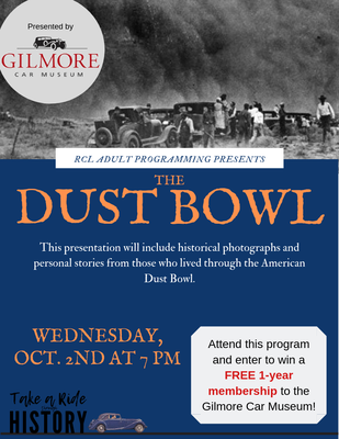 Gilmore Presents The Dust Bowl