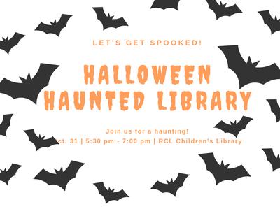 Halloween Haunted Library