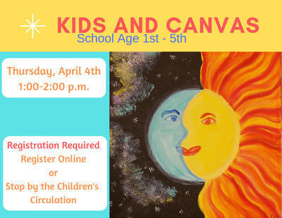 Kids & Canvas (School Age)