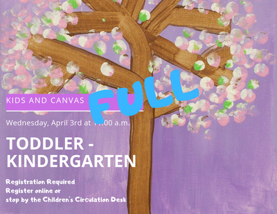 Kids & Canvas (Toddler - Kindergarten)