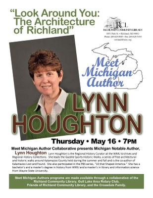 Meet MI Authors Series: Lynn Houghton