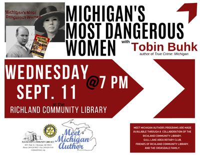 Meet Michigan Author: Tobin Buhk