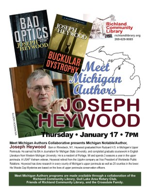 Meet Michigan Authors: Joseph Heywood