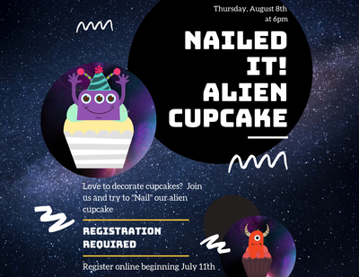 Nailed It!  Alien Cup Cakes