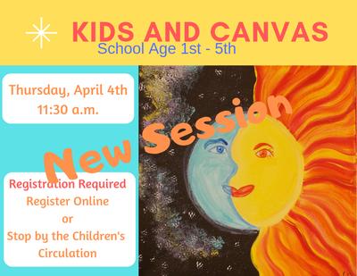 School Age Kids & Canvas