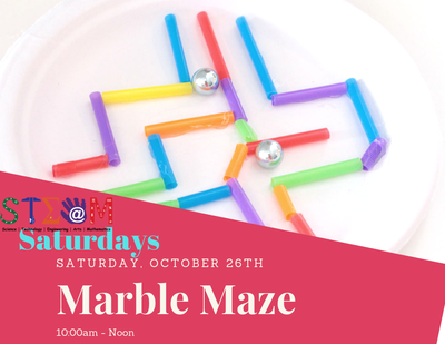 STEAM Saturday - Marble Maze
