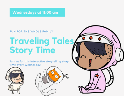 Traveling Tales Storytime