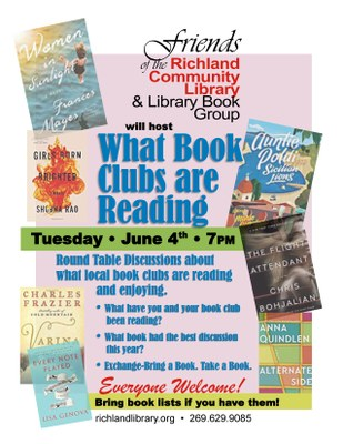 What Book Clubs are Reading Round Table